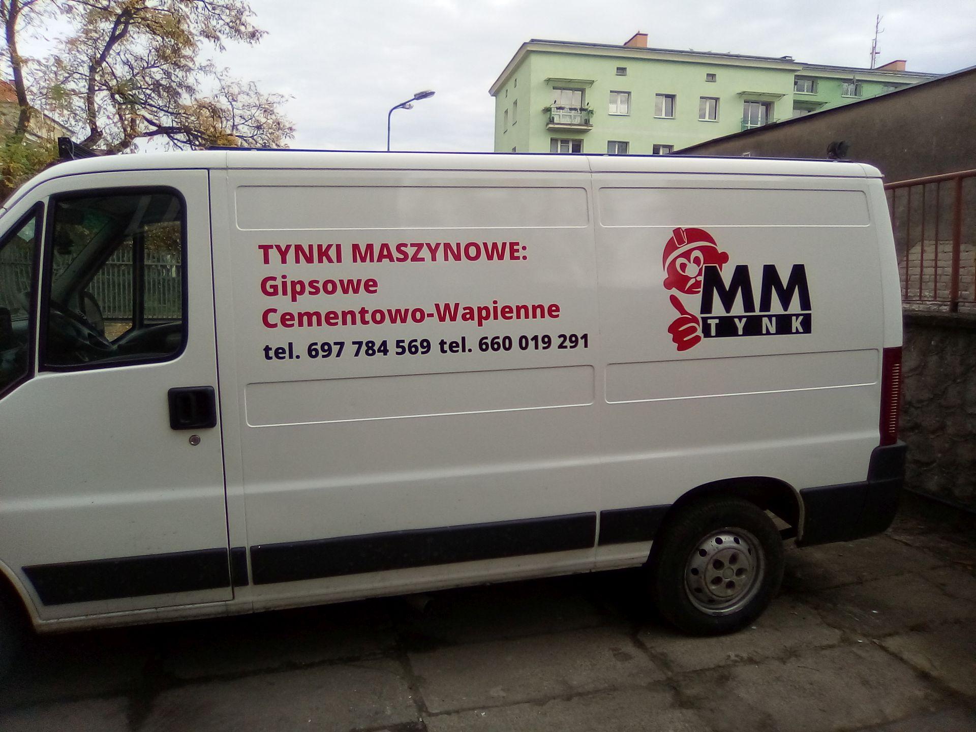 Kolejny wyklejony samochód dla MM Tynk