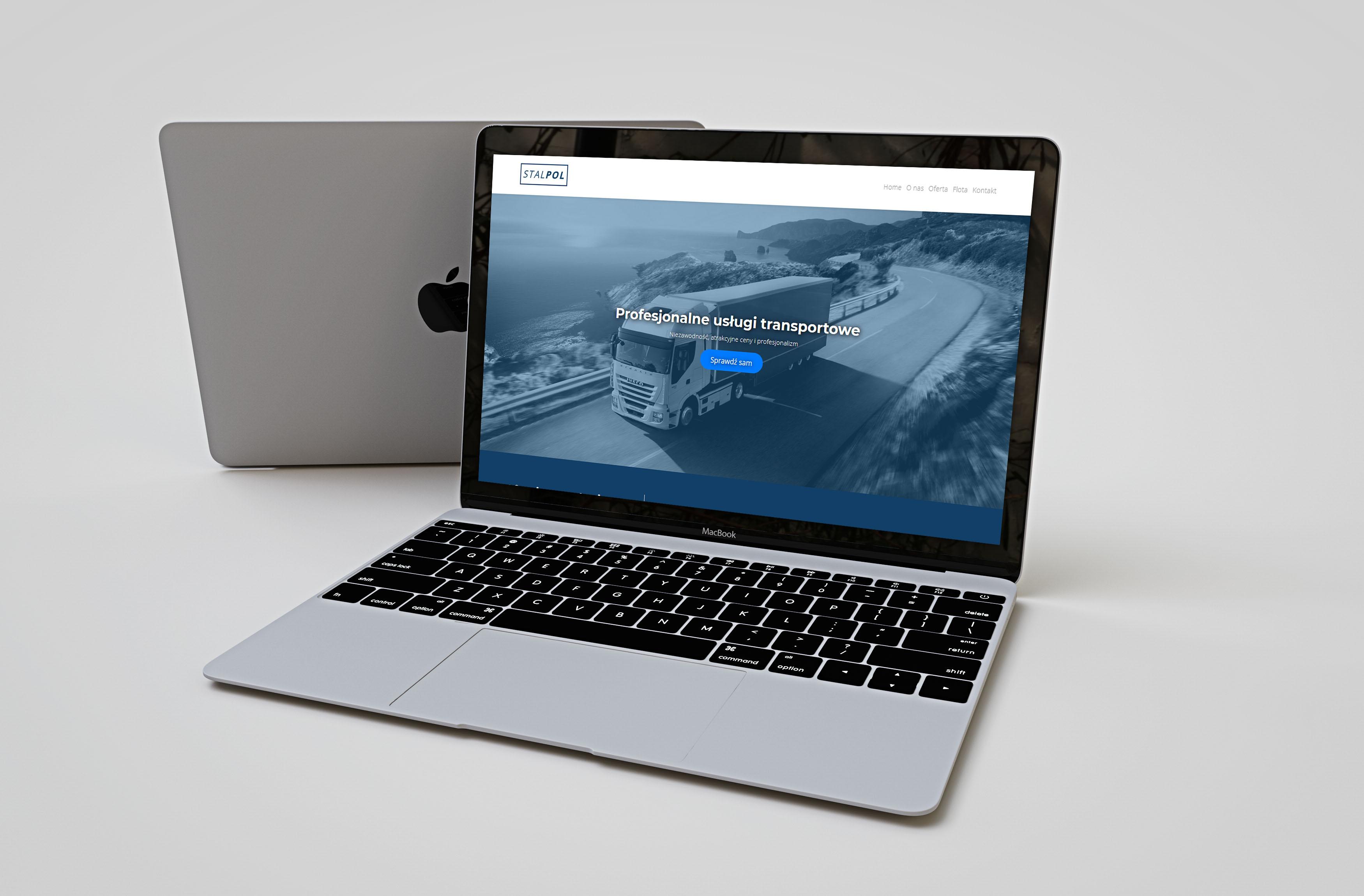 Strona internetowa dla firmy StalPol