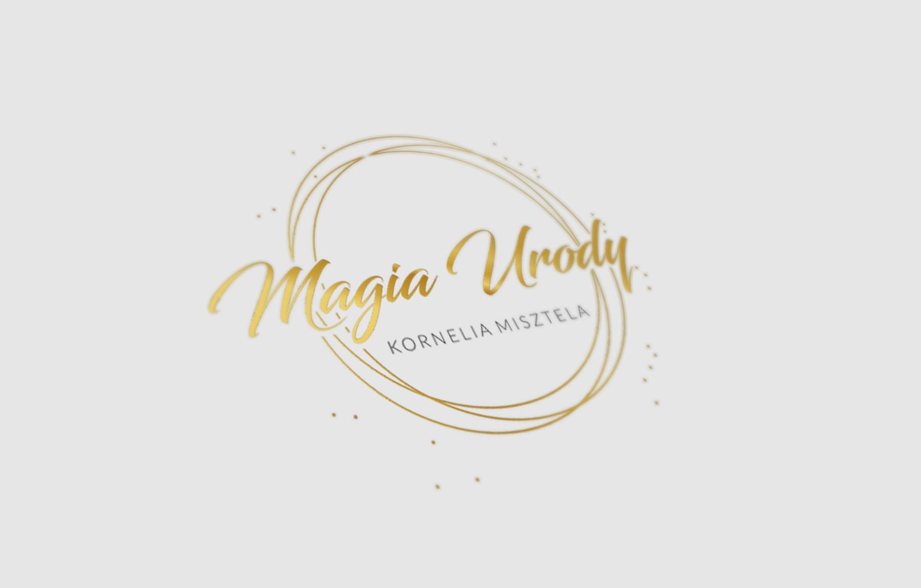 Projekt logo dla Magia Urody