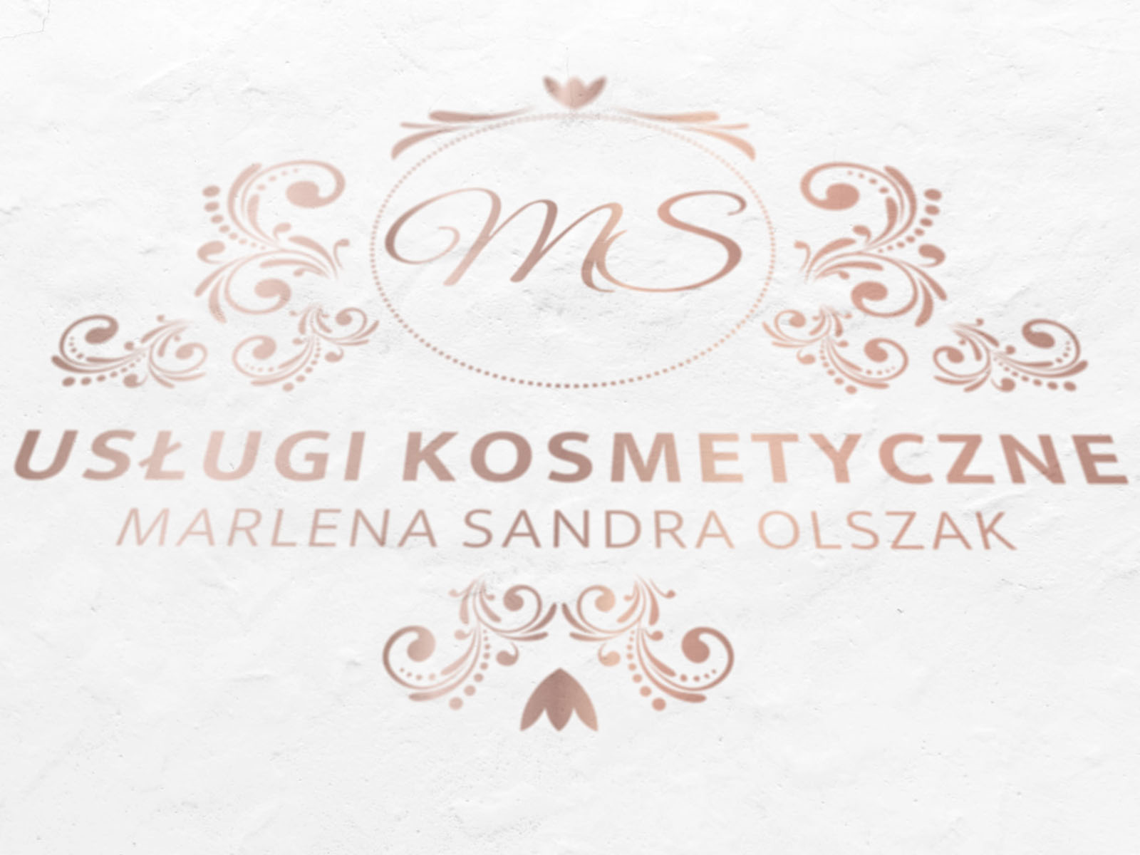 Logo dla Marleny Sandry Olszak - Usługi kosmetyczne