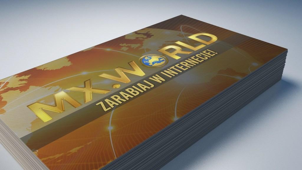 Wizytówki dla MX World