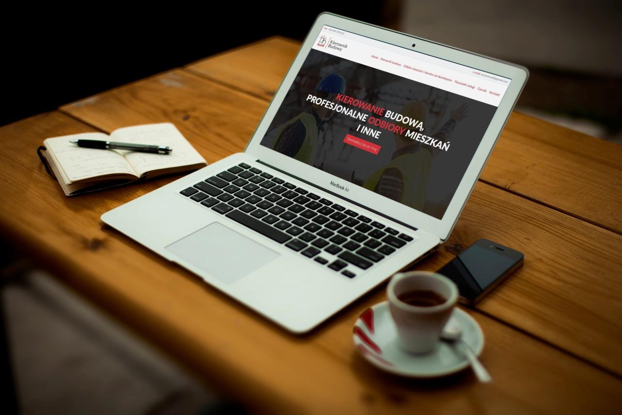 Wykonanie strony internetowej dla PB Bylewski Kierownik Budowy